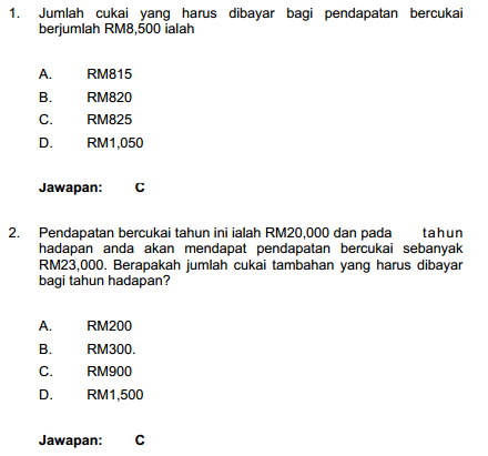 Contoh Soalan Matematik Pembantu Tadbir Perkeranian/Operasi N17