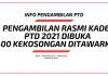 Pengambilan Rasmi Kadet PTD 2021 Di Buka